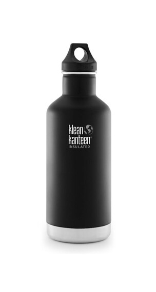 Klean Kanteen Classic Insulated Trinkflasche mit Loop Cap 946ml shale black